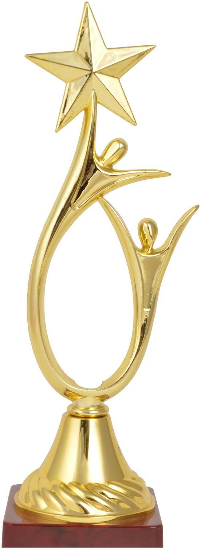 Trophy Junction Metallic Fiber Trophy (Gold, 11 Inch)
